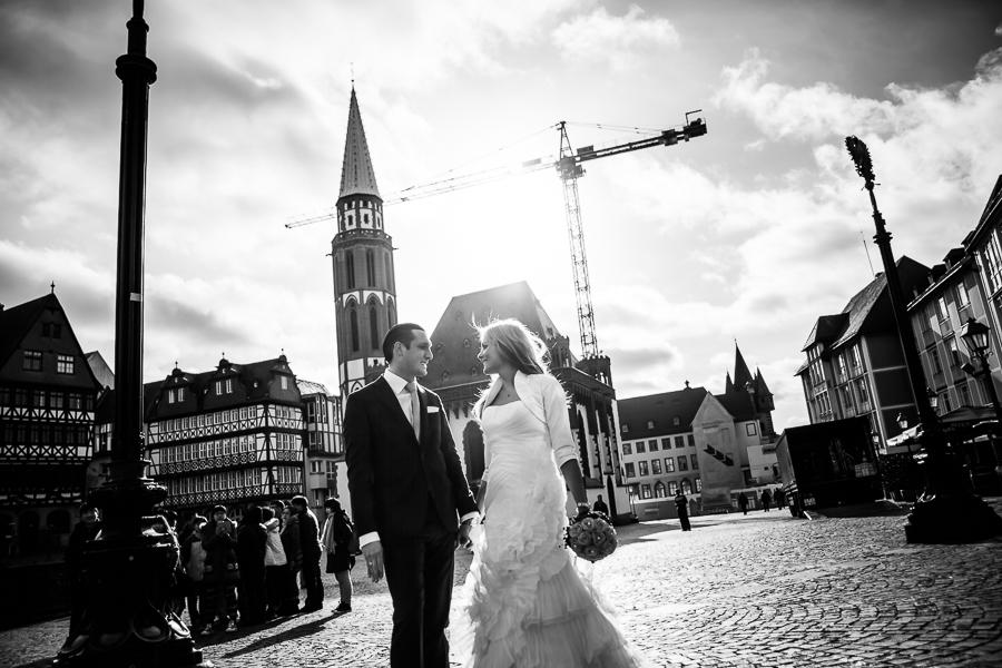 Hochzeitsportrait Römer Frankfurt